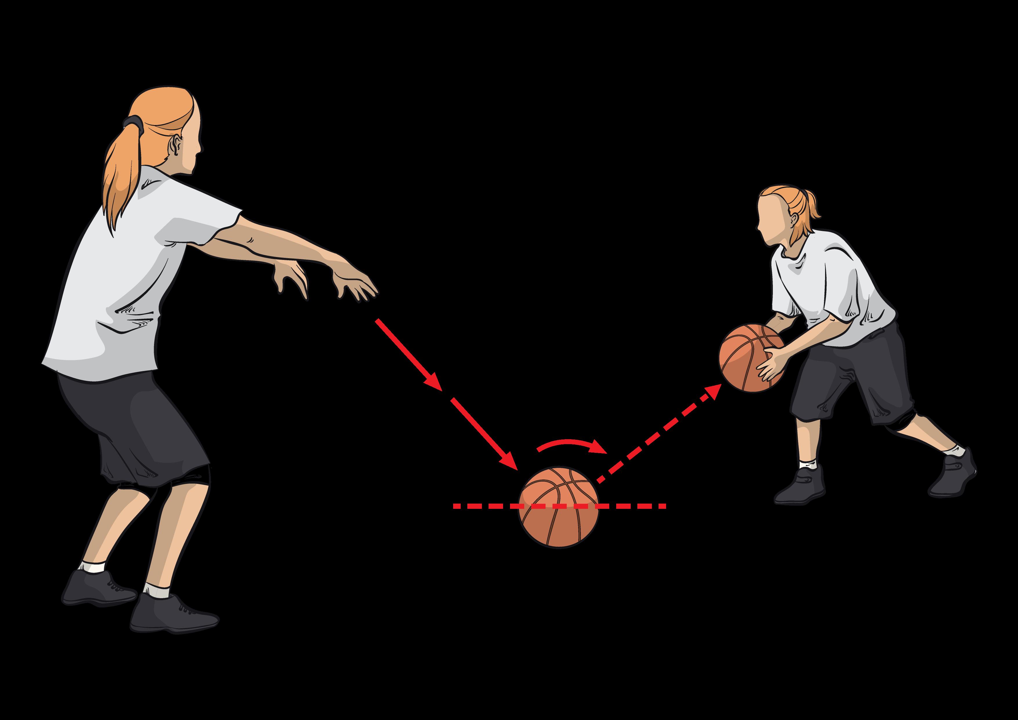Teknik Passing Bounce Pass