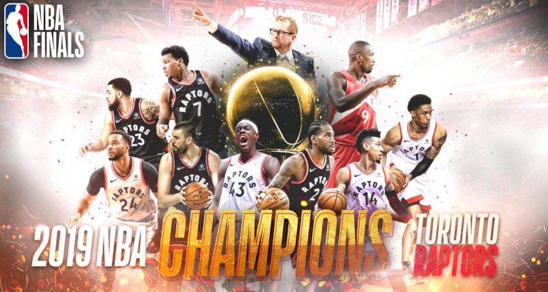 Juara NBA 2019, Toronto Raptors